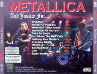 AND JUSTICE FOR... (RE-ISSUE) (RED LETTERS)